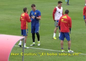 Iker Casillas avisa a Jordi Alba: