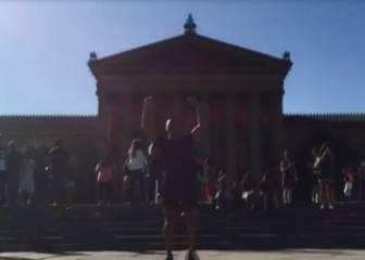 El curioso video que compartió Alexis inspirado en Rocky