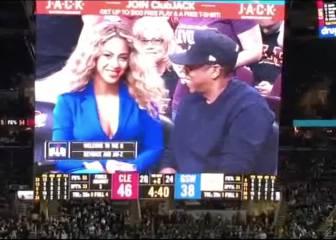 'Momentazo Beyoncé' en la final: Cleveland se vino abajo