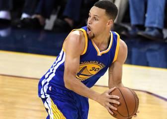 Nuevo récord histórico para Curry: 28 triples en las Finales