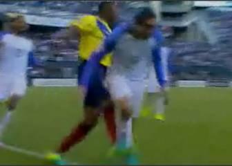 Esto Mou no lo perdona: brutal patada de Valencia y roja