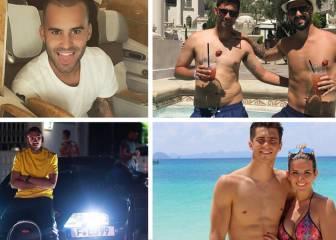 Así pasan sus vacaciones los jugadores del Real Madrid
