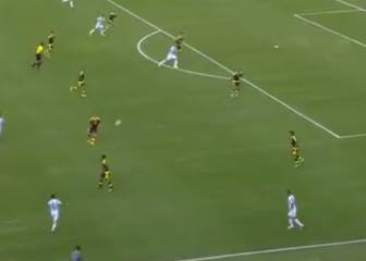 Messi y su asistencia de 40 metros que te dejará sin habla