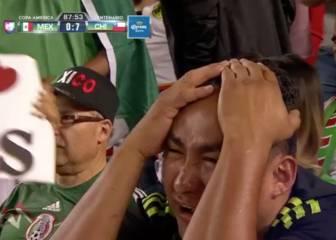 Las lágrimas de pura rabia de los mexicanos con el 0-7
