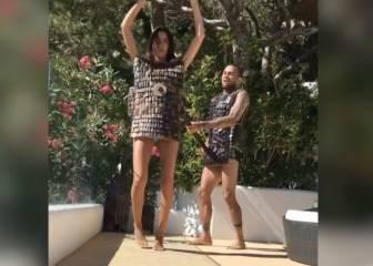 Dani Alves convierte a su novia en una auténtica cavernícola
