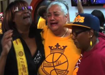 A LeBron le sobran abuelas: así lo vivieron sus viejas fans