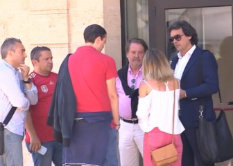 El agente de Morata habló con el delantero en el hotel