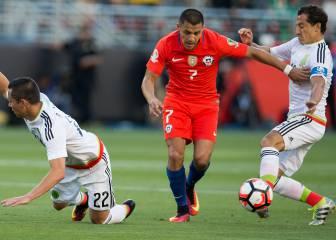 Alexis Sánchez y su velocidad puesta al servicio del fútbol