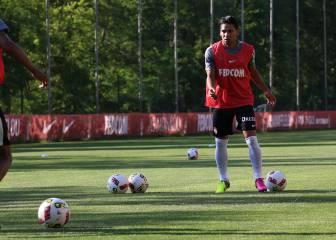 Con golazo, Falcao vuelve a los entrenamientos del Mónaco