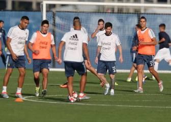 Argentina prepara la final golpeada por las ausencias