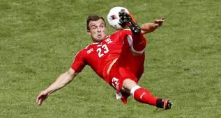 Shaqiri hizo el gol de la EURO con una chilena sensacional