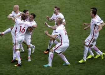 Resumen y goles del Suiza-Polonia de la Eurocopa
