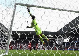 ¿Es la parada de Fabianski la mejor de toda la Eurocopa?