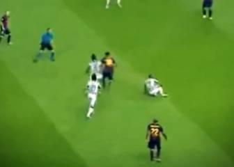 El caño de Messi que rompió a Vidal en la final de Berlín