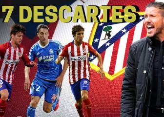 Los 7 descartes de Simeone para la temporada del Atlético