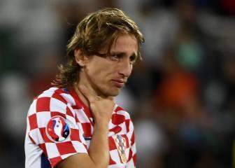 El llanto desconsolado de Modric tras caer eliminado