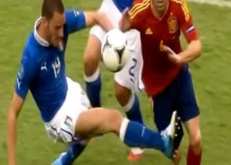 ¡Que no se repitan! Las duras patadas de Italia a Iniesta
