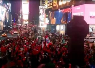El espectacular festejo de los chilenos en todo el mundo