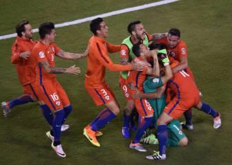 Resumen y penaltis de la final entre Argentina - Chile