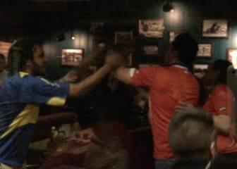 ¡La pelea en un pub de París entre chilenos y argentinos!