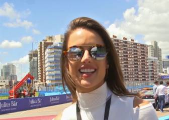 La top Alessandra Ambrosio se atreve...¡Con el safety car!