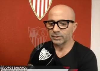 Las 3 frases con que Sampaoli se presentó en el Sevilla
