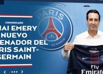 Emery se convierte en nuevo técnico del PSG hasta 2018