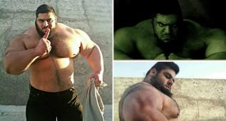 Vean al Hulk iraní: menuda bestia de la naturaleza