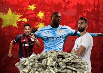 5 jugadores de renombre que pueden ir a la Superliga China
