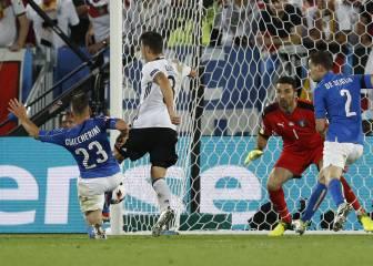 El zurdazo del mago Özil para romper el cerrojo italiano