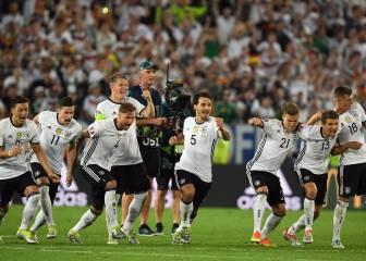 Resumen y goles del Alemania - Italia de la Eurocopa