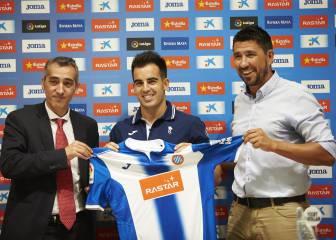Puesta en escena de Jurado como jugador del Espanyol