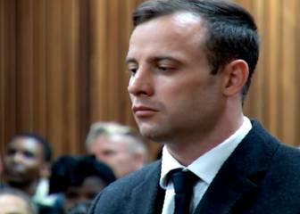 El momento en el que Oscar Pistorius supo la sentencia