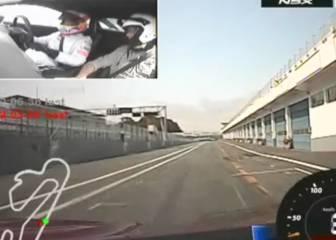 AStv se sube al nuevo Honda NSX de Fernando Alonso