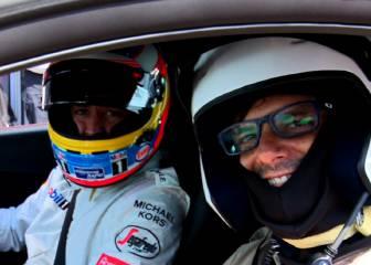 Fernando Alonso presenta el nuevo Honda NSX en Estoril