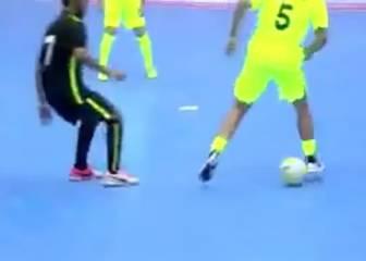 Puyol: rey del taconazo y la filigrana en el fútbol sala