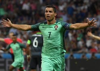 Cristiano lidera a Portugal a su segunda final de Eurocopa