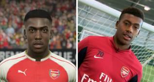 Alex Iwobi aprende a hacer sus regates...¡jugando al FIFA!