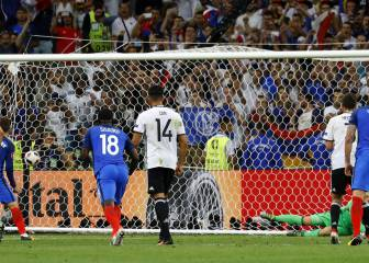 Ni Neuer ni el trauma de Milán asustan a 'Grizi': penalti 'top'