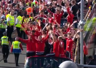 Gareth Bale copia el grito 'vikingo' del 'Húh' a la galesa