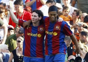 Pareja de cracks: lo mejor de Ronaldinho y Messi juntos