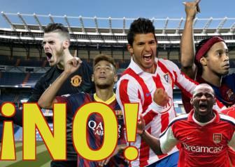 El 11 de cracks que no pudo fichar el Madrid de Florentino