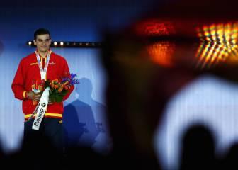 Vean la entrega de la medalla de oro a Bruno Hortelano