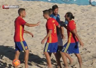 España arrasa a Francia (11-3)