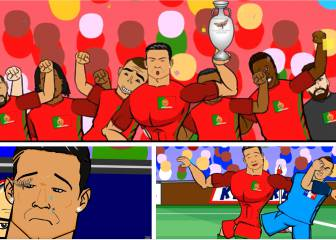 Cristiano stars in this moth-inspired Euro 2016 final parody