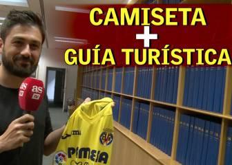 La camiseta del Villarreal en la Champions trae guía turística