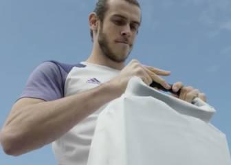 Bale y el alucinante spot de la nueva camiseta del Madrid