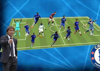 El XI con el que Conte quiere devolver la gloria al Chelsea