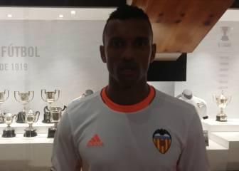 El saludo de Nani a los lectores de AS desde Valencia