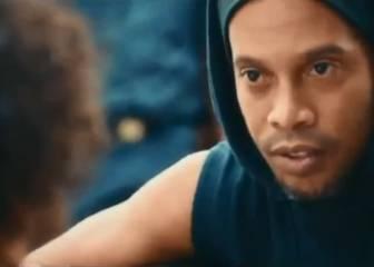 Ronaldinho encabeza emotivo spot de Río 2016 en las favelas